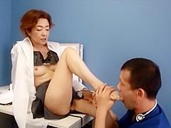 Horny Japanese girl Kei Marimura in Incredible Amateur, Blowjob JAV video