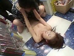 Exotic Japanese whore Ryo Kiyohara in Fabulous Public, Small Tits JAV movie