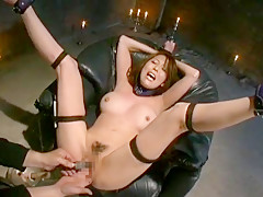 Exotic Japanese whore Akari Minamino in Hottest BDSM, Hardcore JAV movie