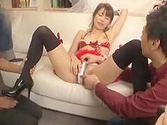 Amazing Japanese slut Marika 2 in Incredible Lingerie, Dildos/Toys JAV movie