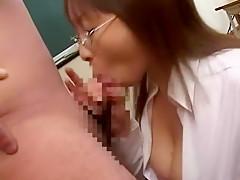 Horny Japanese chick Aya Shirayuki in Crazy Big Tits, POV JAV movie