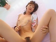 Horny Japanese slut Leila Aisaki, Chihiro Hara in Exotic BDSM, Dildos/Toys JAV movie