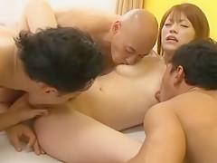 Exotic Japanese chick Azusa Itagaki in Best Gangbang, Dildos/Toys JAV scene