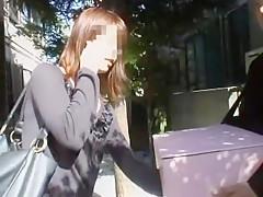 Exotic Japanese model in Horny Voyeur JAV video