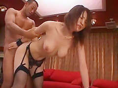 Fabulous Japanese chick Yuki Toma in Amazing JAV clip