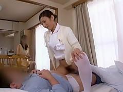 Exotic Japanese whore Yuuha Sakai, Yuu Uehara, Shizuka Kanno in Best JAV movie