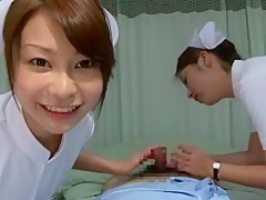 Crazy Japanese girl Yuri Aine, Mint Suzuki, Tsubaki Katou in Exotic Handjobs, Threesomes JAV movie