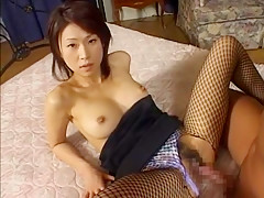 Exotic Japanese whore Miki Komori in Fabulous Medical JAV scene