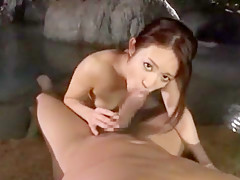 Best Japanese chick Shelly Fujii in Amazing Blowjob/Fera JAV scene