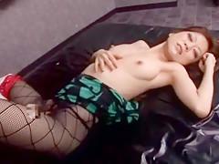 Best Japanese slut Hirai Ayana in Exotic Stockings/Pansuto, Fetish JAV video