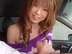 Fabulous Japanese chick Rika Sakurai in Incredible Blowjob, Lingerie JAV clip