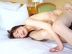 Exotic Japanese chick Mio Fujii in Hottest Wife JAV video