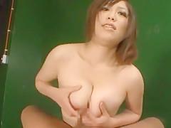 Incredible Japanese whore Haru Aoki in Fabulous POV, Blowjob JAV movie