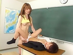 Horny Japanese chick Mami Shindo, Sayaka Kusunoki in Best Blowjob JAV clip