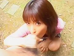 Horny Japanese chick An Nanba in Fabulous Cumshots, POV JAV scene