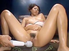 Incredible Japanese slut Ai Kawamoto in Fabulous Threesomes, Fetish JAV movie