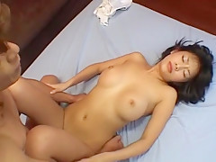 Amazing Japanese chick Sasa Handa in Exotic Masturbation, Facial JAV clip