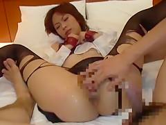 Hottest Japanese slut Rui Saotome, Shizuka Kanno, Shinobu Kasagi in Crazy Doggy Style, Small Tits JAV scene