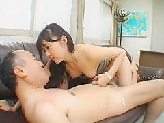 Crazy Japanese model Tsubomi in Fabulous Handjobs, Stockings JAV clip