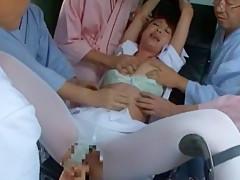 Incredible Japanese model Sae Aihara in Fabulous Fingering, Medical JAV video