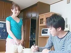 Fabulous Japanese girl Yui Hatano in Horny Blowjob, Fingering JAV movie