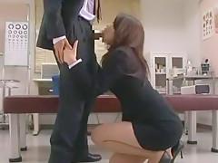 Best Japanese slut Maki Hojo in Exotic Blowjob, Creampie JAV video