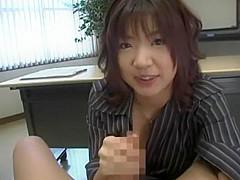 Amazing Japanese whore Rika Hayama, Kirari Hoshikawa, Maria Nanami in Exotic POV, Office JAV movie