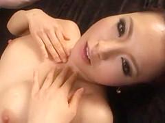 Hottest Japanese chick Natsu Yuuki in Exotic Couple, Handjob JAV scene