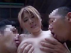 Hottest Japanese slut Momoka Nishina, Kyouko Maki in Amazing Outdoor, Big Tits JAV movie