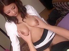 Crazy Japanese whore Satomi Suzuki in Fabulous Doggy...