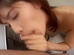 Exotic Japanese girl Riko Tachibana in Hottest Office, Cunnilingus JAV video