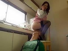 Best Japanese girl Kuroki Ichika in Crazy Stockings JAV scene