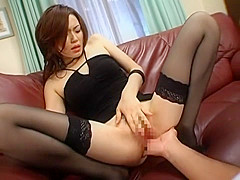 Incredible Japanese slut Yui Matsuno in Horny Cougar, Stockings JAV clip