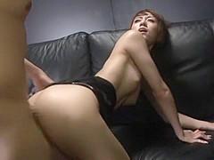 Horny Japanese slut Arisa Kanno in Crazy Cunnilingus JAV video