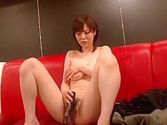 Exotic Japanese model in Incredible Blowjob, Close-up JAV movie
