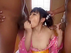 Amazing Japanese slut Nana Usami in Best Threesome, Blowjob JAV movie