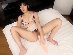 Horny Japanese slut Nana Usami in Fabulous Solo Female, Close-up JAV clip