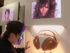 Exotic Japanese girl Ryo Tsujimoto, Tsubasa Miyashita in Hottest Group Sex, Rimming JAV clip
