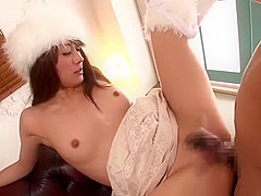 Best Japanese whore Saki Kozai in Incredible Blowjob, Couple JAV clip