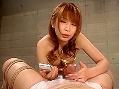 Exotic Japanese girl Maki Hojo in Horny Blowjob, Compilation JAV scene
