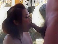 Best Japanese slut Sumire Matsu, Mikuru Shiina, Rio Hamasaki in Hottest Blowjob, Amateur JAV video