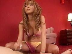 Fabulous Japanese chick Risa Hano in Hottest Couple, Femdom JAV scene