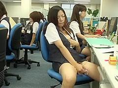 Hottest Japanese whore Nana Miyachi, Megumi Shiina in Fabulous Amateur, Masturbation JAV scene