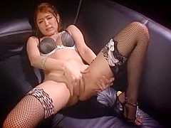 Fabulous Japanese whore Miku Hasegawa 2 in Incredible MILF, Lingerie JAV scene