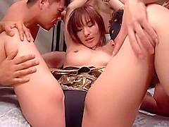Fabulous Japanese whore Nao Ayukawa in Horny Gangbang, Facial JAV movie