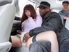 Amazing Japanese girl Asuka Morimoto in Best Voyeur, Interracial JAV video