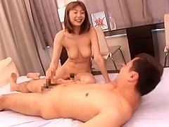 Incredible Japanese whore Yuma Asami in Exotic Cumshot, Big Tits JAV movie