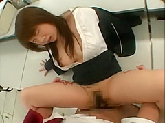 Crazy Japanese model in Incredible Amateur, Fingering JAV video