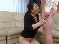Exotic Japanese chick in Fabulous Blowjob, HD JAV scene