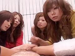 Best Japanese whore in Hottest Foot Fetish, POV JAV video